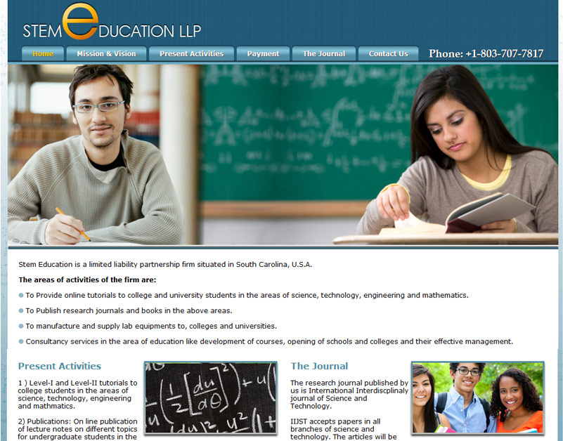 Website Design For Schools And Institutes In India
