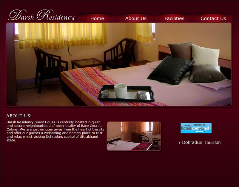 Beau Guest House Website Design